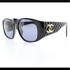 Chanel vintage Quilted sunglasses